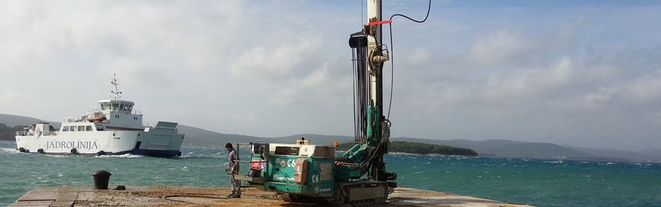 Jet-grouting, Biograd, 2014 god